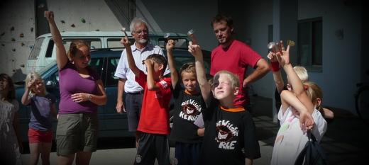 Ferienprogramm in Weyarn organisiert durch die Bürgerstiftung Energiewende Oberland und den Arbeitskreis Energie und Umwelt Weyarn