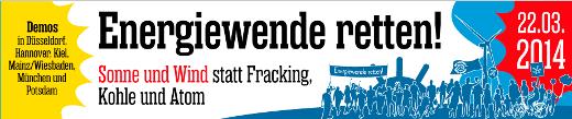 22. März: Bundesweite Energiewende-Demos