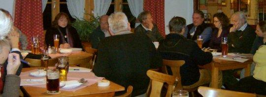 Die EWO-Gruppe Miesbach. Bei der Versammlung in Warngau nahmen etwa 20 Bürger teil | Foto EWO