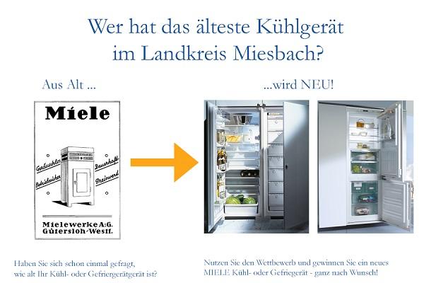 Wer hat das älteste Kühlgerät im Landkreis Miesbach?