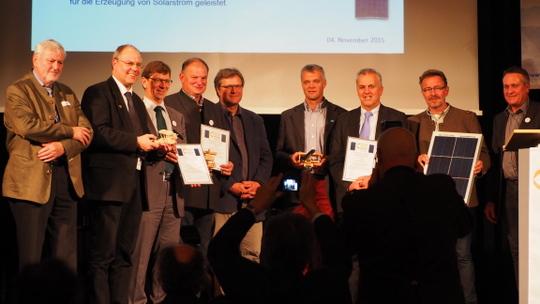 Gewinner des Solarstrompreis 2015
