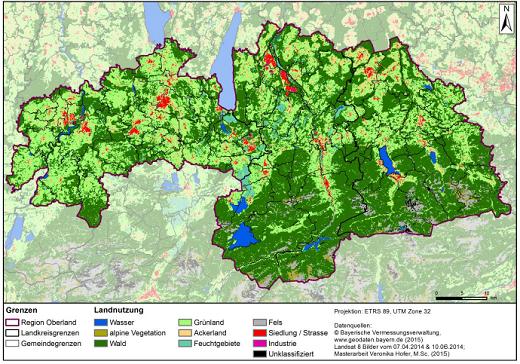 INOLA nimmt neben der Energieerzeugung die Landnutzung und naturräumlichen Gegebenheiten unter die Lupe