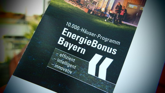 Richtlinienanpassung im 10.000-Häuser-Programm – EnergieBonusBayern weiterhin mit KfW kombinierbar