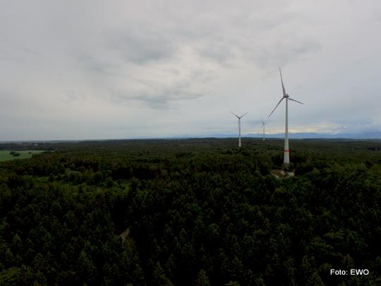 Exkursion zu den Windrädern Wadlhauser Gräben (Landkreis Starnberg)
