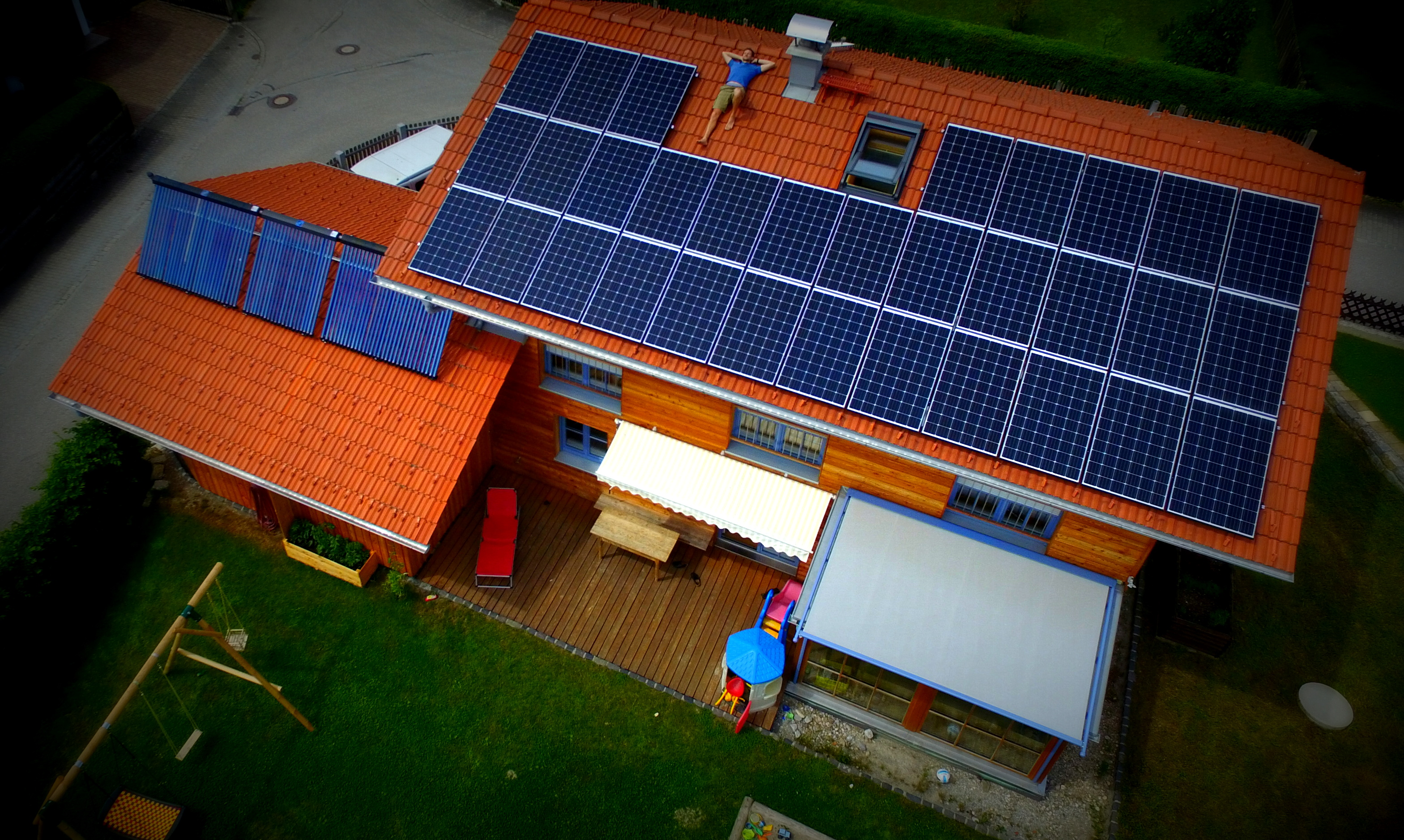 Zu Besuch beim Energiewende Pionier in Schaftlach