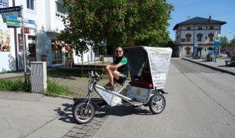Praxisbeispiel: Per Radltaxi unterwegs im Oberland
