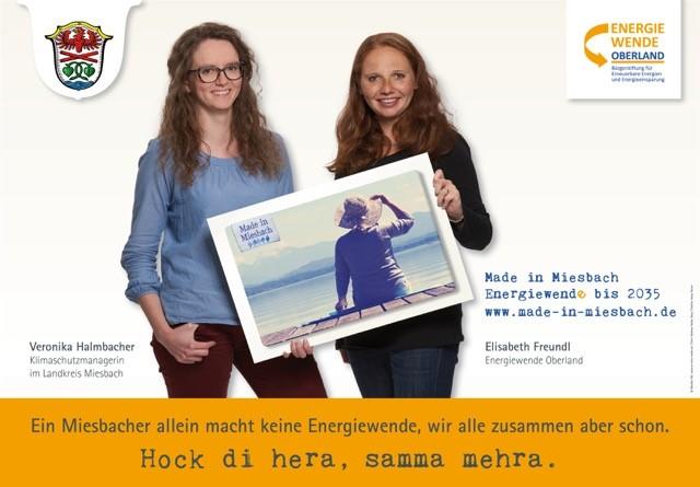 "Start der Energiewende-Kampagne ""Made in Miesbach"""