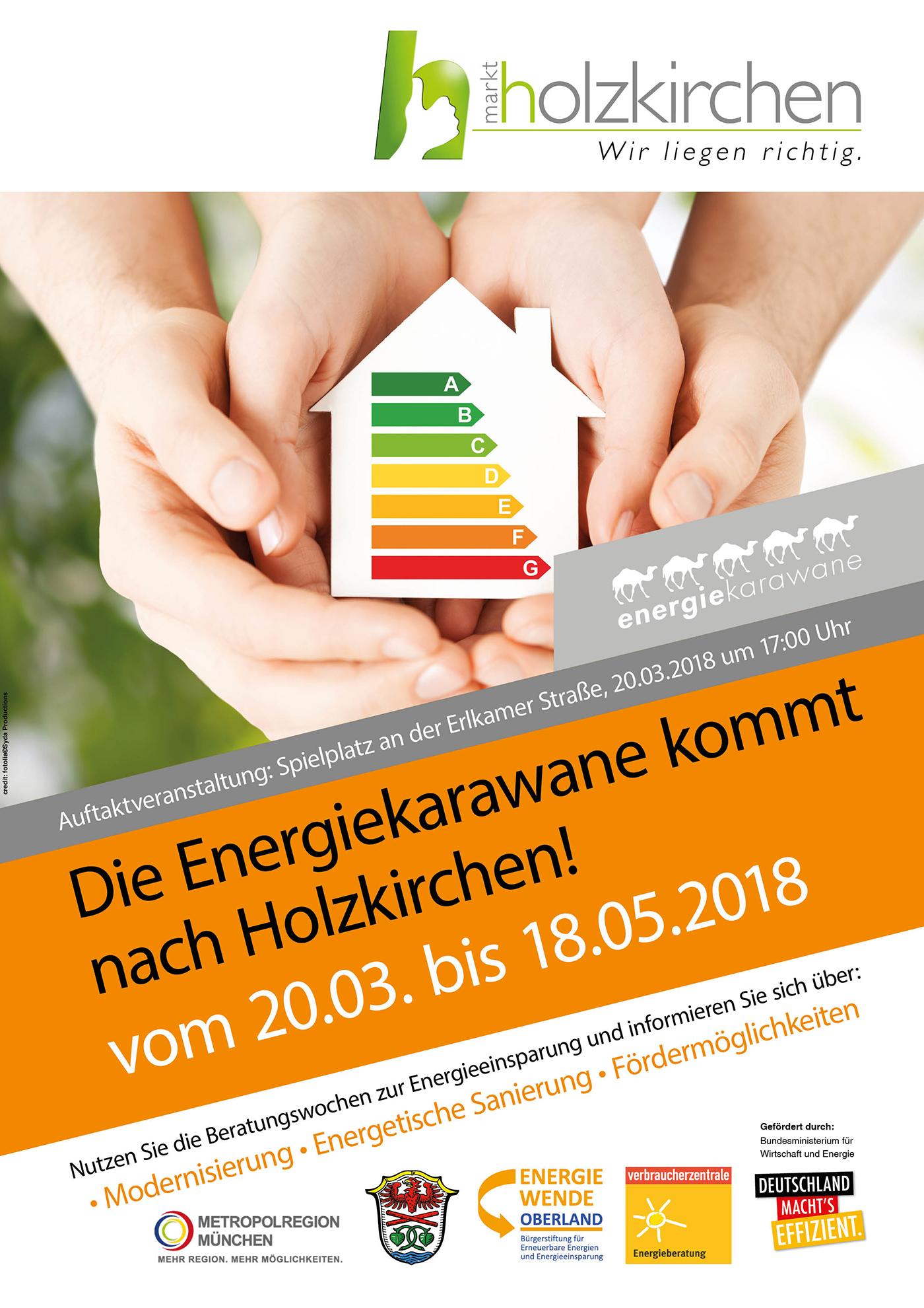 Die Energiekarawane kommt nach Holzkirchen