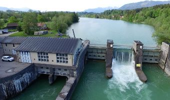 Das Isarkraftwerk Bad Tölz