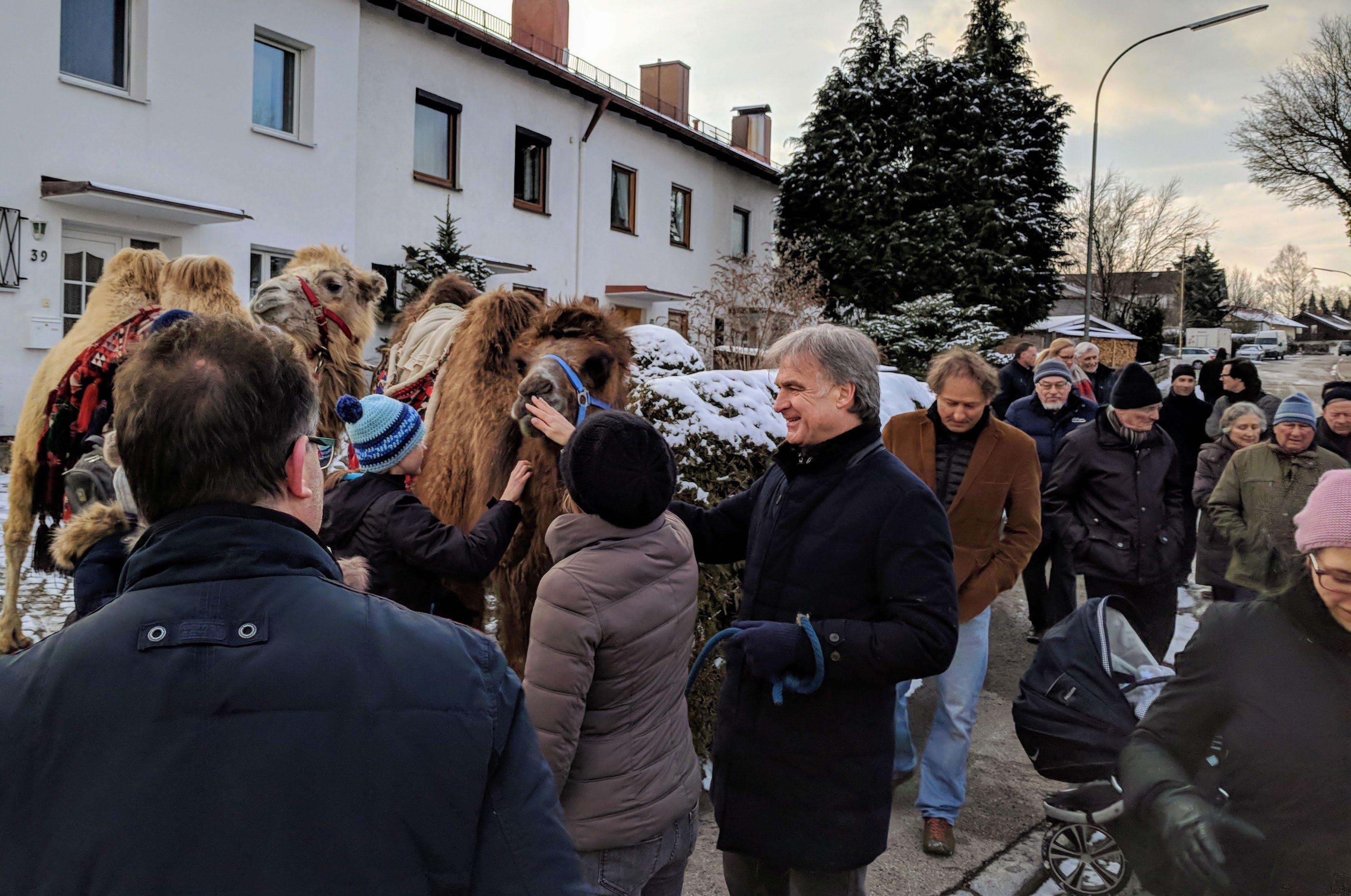 Auftakt zur Energiekarawane in Holzkirchen