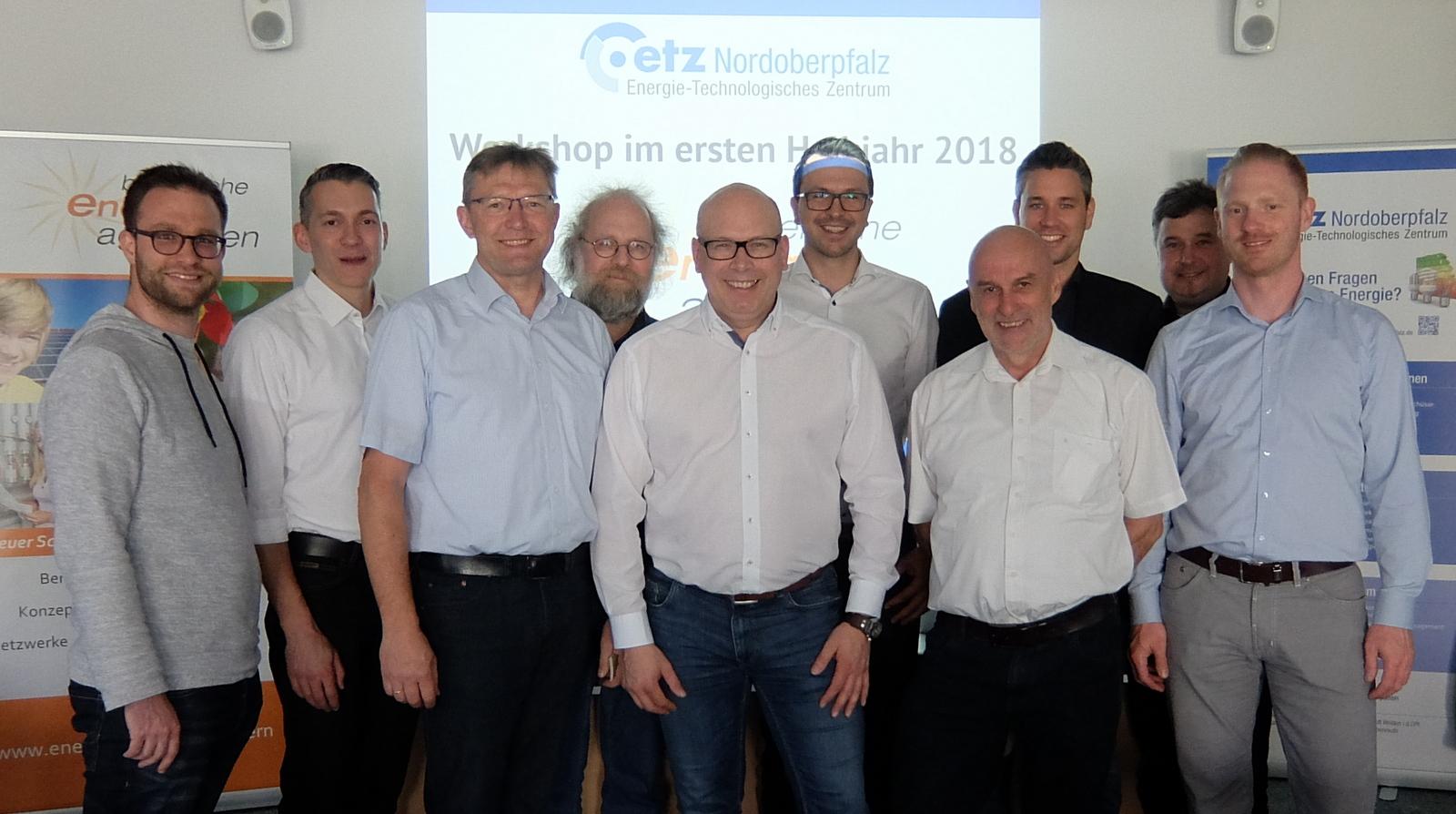 v.l.: Richard Röck, Marc Gasper, Ludwig Friedl, Peter Pospischil, Matthias Rösch, Stefan Drexlmeier, Hans Gröbmayr, Sebastian Zirngibl, Roland Mäckle, Willie Stiehler