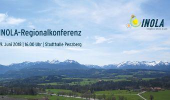 INOLA-Regionalkonferenz am 19.06.2018  um 16:00 Uhr in der Stadthalle Penzberg