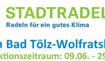 Stadtradeln Bad Tölz-Wolfratshausen vom 09.-29.06.2018