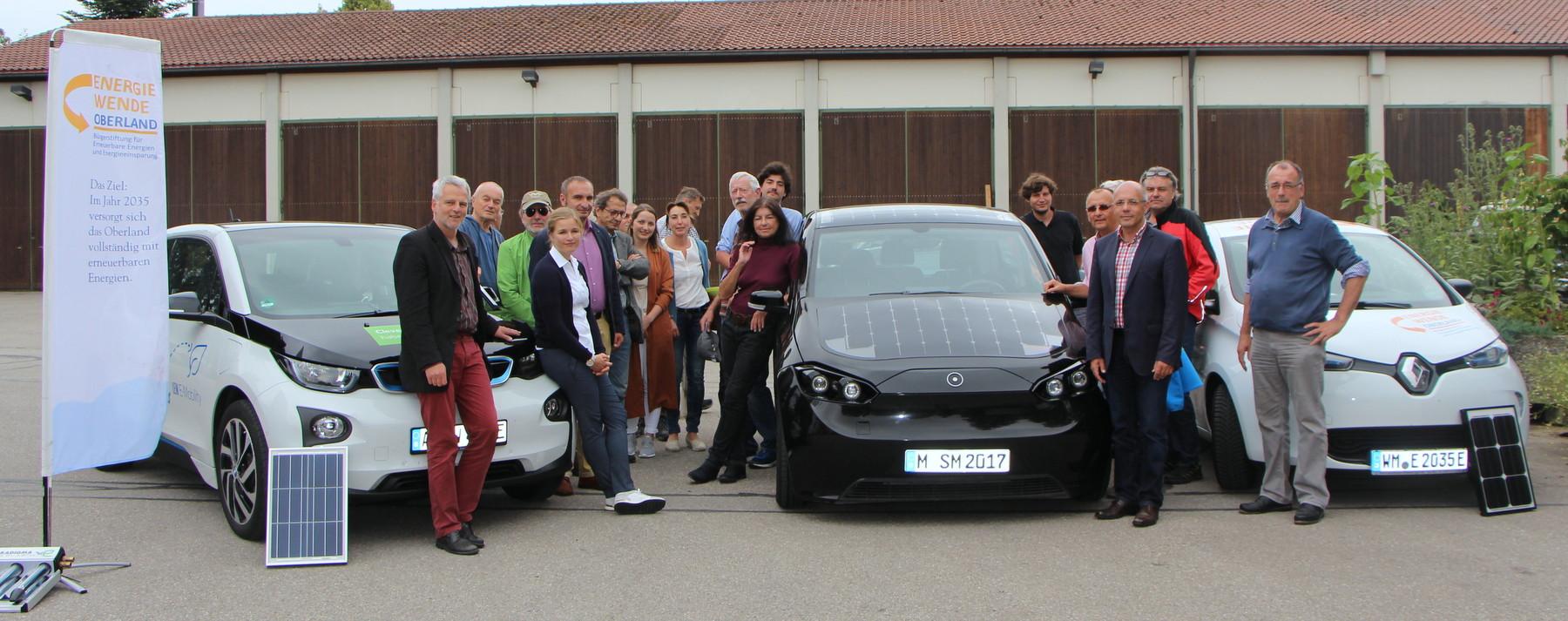 Woche der Sonne in Schongau! Strom und Mobilität wachsen immer mehr zusammen!