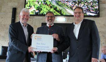 Auszeichnung zur Energiewende-Kommune 2017
