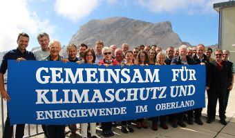 Gemeinsam für Klimaschutz und Energiewende im Oberland