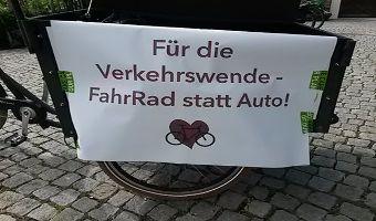 FAIRkehr - Radldemo für eine sichere und gleichberechtigte Mobilität in Garmisch-Partenkirchen