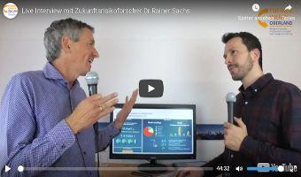 Live Interview mit Zukunftsrisikoforscher Dr. Rainer Sachs