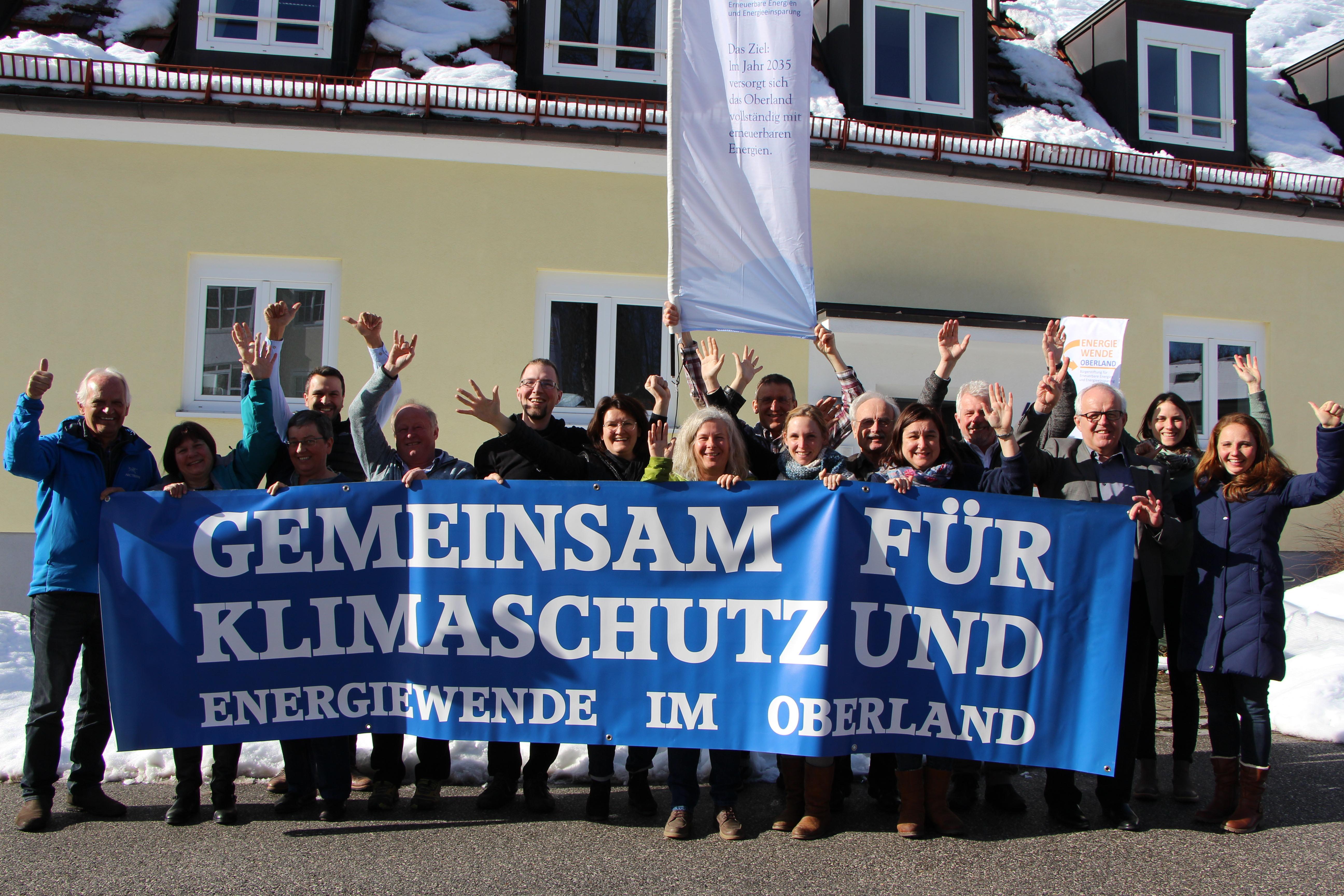 Volle Kraft voraus! Energiewende Oberland steckt Ziele für 2019