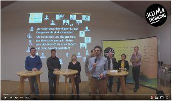 Kommunen im Klimawandel - Podiumsdiskussion
