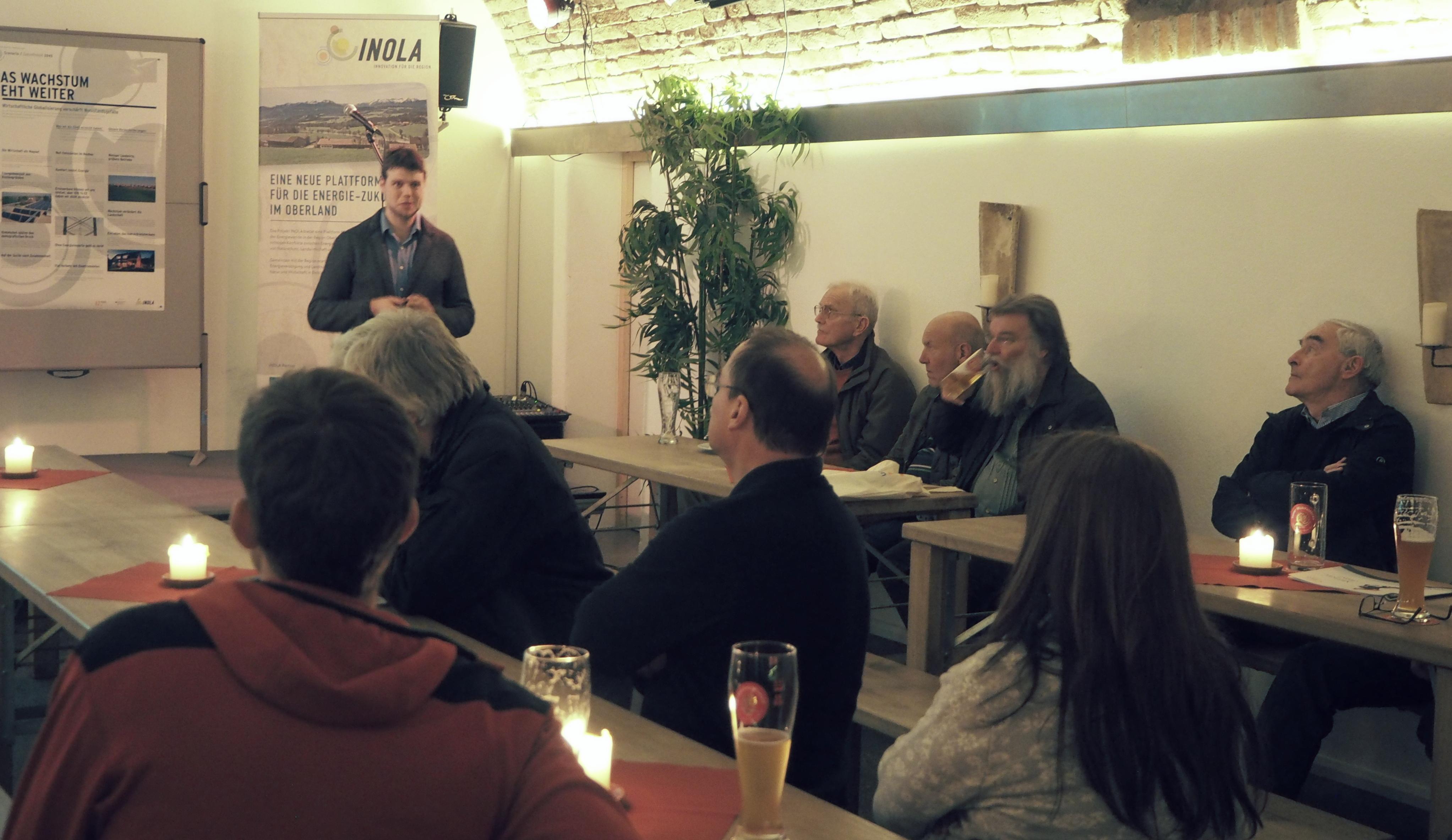 100 Prozent Erneuerbare Energie im Oberland - Projekt INOLA zeigt Entwicklungspfade der Energiewende
