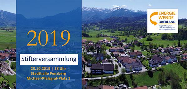 Stifterversammlung Energiewende Oberland
