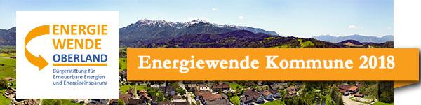 Ausschreibung  Energiewende-Kommune 2018