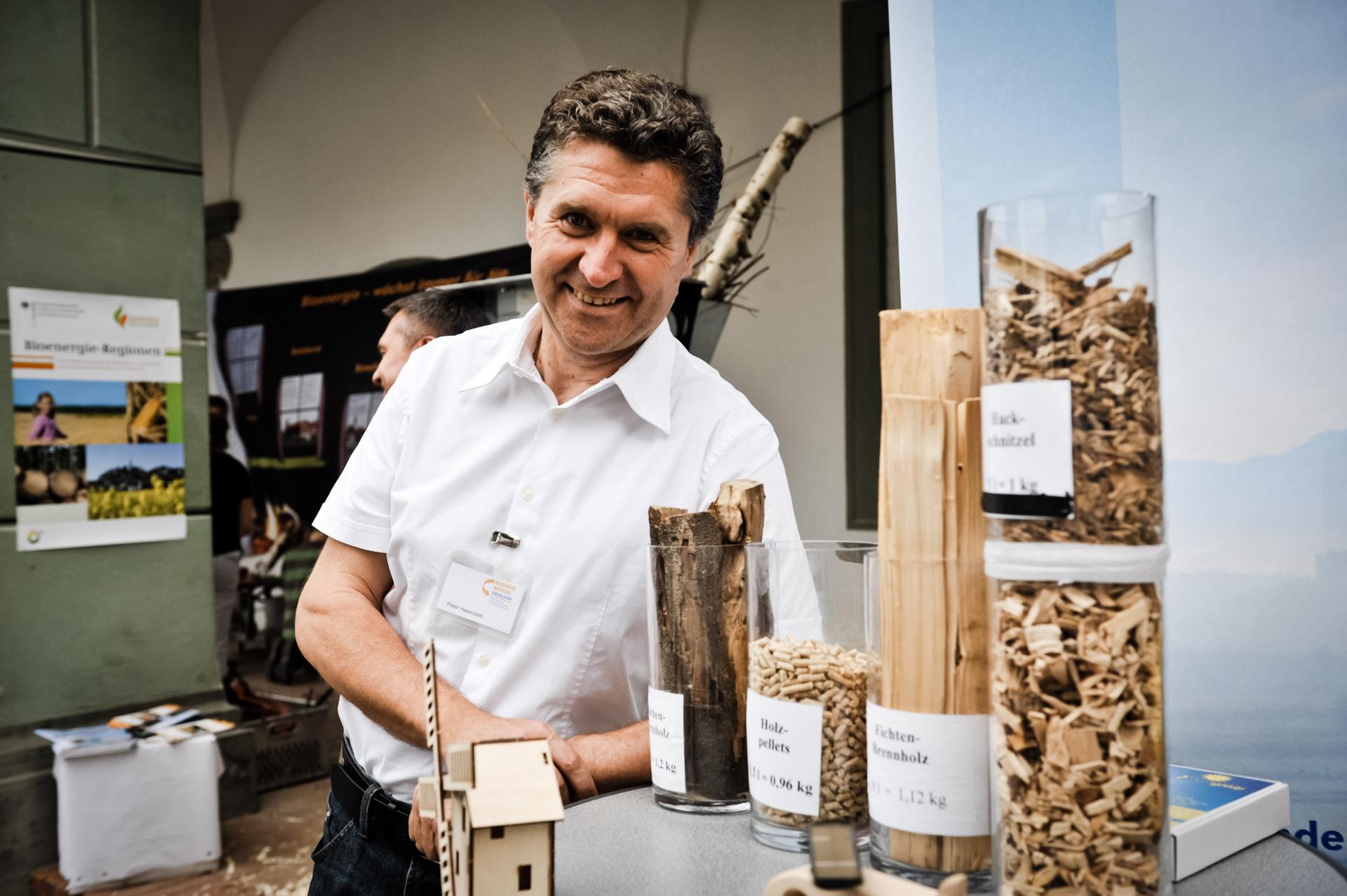 Peter Haberzettl auf dem Lernfest in Benediktbeuern