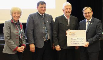 Energiewende-Kommune 2018 - Murnau erhält Auszeichnung