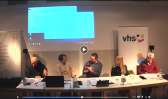Live-Aufzeichnung zur Podiumsdiskussion: Der Tropfen auf den heißen Stein
