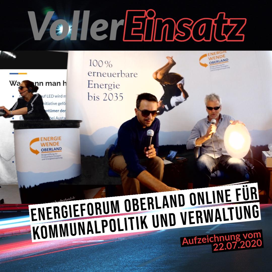 v.l.n.r.: Elisabeth Freundl, Stefan Drexlmeier und Andreas Scharli bei der Live-Vorführung von LED-Straßenbeleuchtung
