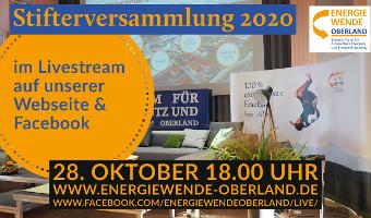 Stifterversammlung 2020 Online