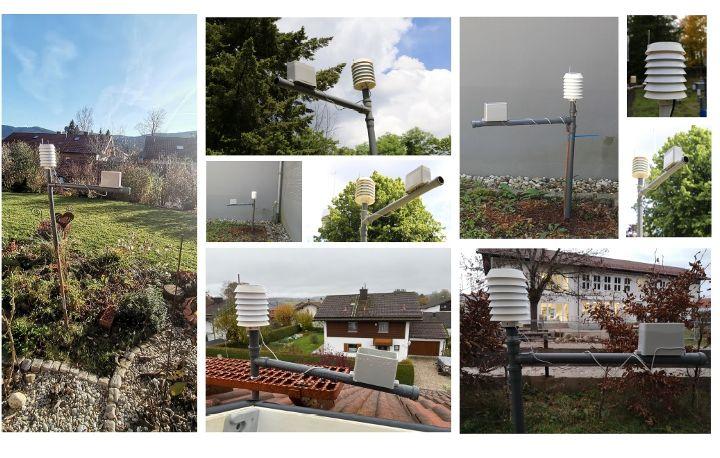 SchülerInnen forschen im Oberland - erste Wetter-Messkampagne 2020 abgeschlossen