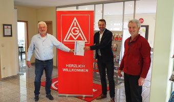 IG Metall Geschäftsstelle Weilheim tritt Bürgerstiftung bei