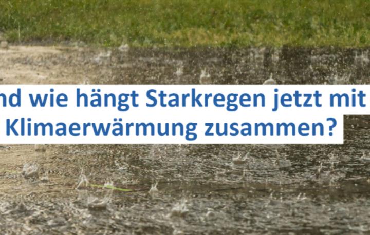 Klimawandel und Starkregen im Oberland