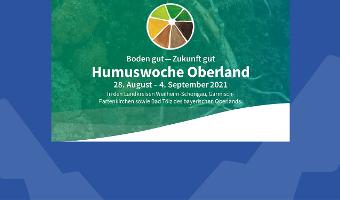 Auftaktveranstaltung Humuswoche Oberland 2021